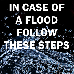 In Case Of A Flood A